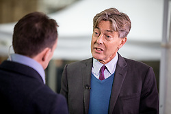 © Licensed to London News Pictures. 01/02/2017. London, UK. Labour MP BEN BRADSHAW is interviewed outside the Houses of Parliament. Today, MPs go into the second day of debating the Article 50 Bill. Bradshaw said he would go against a three-line whip imposed by the Labour Party leader Jeremy Corbyn. Photo credit : Tom Nicholson/LNP
