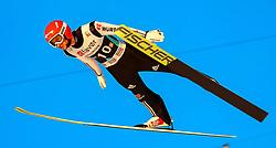 18.03.2017, Vikersundbakken, Vikersund, NOR, FIS Weltcup Ski Sprung, Raw Air, Vikersund, Team Skifliegen, im Bild Markus Eisenbichler (GER) // Markus Eisenbichler of Germany // during the Team Event of the 4th Stage of the Raw Air Series of FIS Ski Jumping World Cup at the Vikersundbakken in Vikersund, Norway on 2017/03/18. EXPA Pictures © 2017, PhotoCredit: EXPA/ Tadeusz Mieczynski