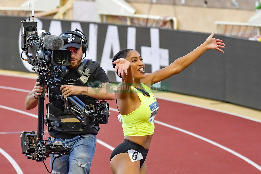 July 20, 2018 - Monaco - 100 metres haies feminin - Queen Harrisson  (Credit Image: © Panoramic via ZUMA Press)