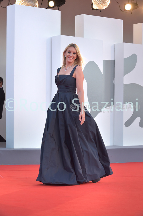 VENICE, ITALY - SEPTEMBER 12: Ludivine Sagnier  walk the red carpet ahead of closing ceremony at the 77th Venice Film Festival on September 12, 2020 in Venice, Italy.<br /> (Photo by Rocco Spaziani)