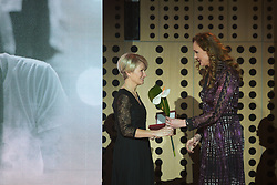 Tanja Babnik and Petra Majdic at 54th Annual Awards of Stanko Bloudek for sports achievements in Slovenia in year 2018 on February 13, 2019 in Brdo Congress Center, Brdo, Ljubljana, Slovenia,  Photo by Peter Podobnik / Sportida