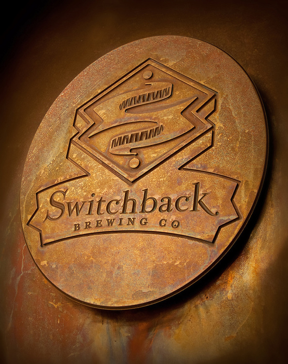 Switchback Brewing Company sign