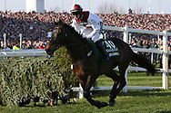 5:15pm The Randox Health Grand National Steeple Chase (Grade 3) 4m 2f during the Grand National Meeting at Aintree, Liverpool, United Kingdom on 6 April 2019.