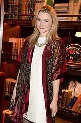 AMBER ATHERTON at the launch of Rosewood London - a new luxury hotel at 252 High Holborn, London WC1 on 30th October 2013.