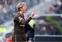 Schlussjubel Mats Møller Dæhli (St. Pauli)<br /> Hamburg, 16.04.2017, Fussball, 2. Bundesliga, FC St. Pauli - FC Wuerzburger Kickers 1:0<br /> <br /> Norway only