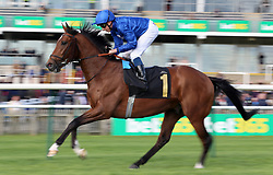 Stage Magic ridden by William Buick in the bet365 Feilden Stakes during day one of The Bet365 Craven Meeting at Newmarket Racecourse, Newmarket. PRESS ASSOCIATION Photo. Picture date: Tuesday April 17, 2018. See PA story RACING Newmarket. Photo credit should read: Nigel French/PA Wire.