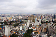 Sao Paulo_SP, Brasil...Imagem aerea da regiao central de Sao Paulo...The aerial view of the central region in Sao Paulo...Foto: MARCUS DESIMONI / NITRO