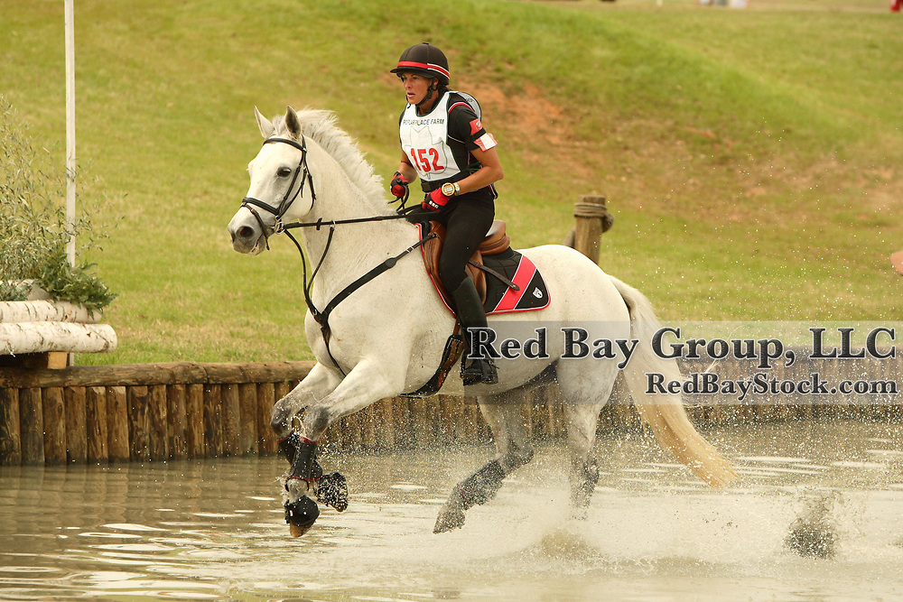 Penny Rowland (CAN) and Windswept at Poplar Place Spring Horse Trials held in Hamilton, Georgia
