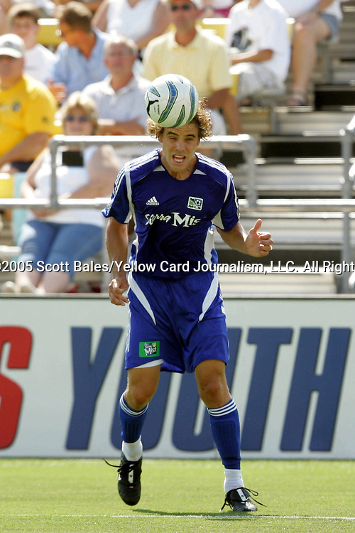 30 July 2005: Major League Soccer's Chris Albright. The Major League Soccer All-Stars defeated Fulham 4-1 at Columbus Crew Stadium in Columbus, Ohio in the 2005 Sierra Mist MLS All-Star Game.