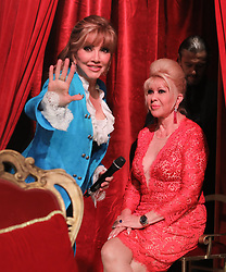 Ivana Trump and Milly Carlucci appear on an episode of Dancing with the Stars - Rome