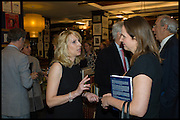 VICKY WARD; ALEXANDRA MORRIS ROBSON, Book party for 'The Liar's Ball' by Vicky Ward hosted by  Sir Evelyn  de Rothschild at Henry Sotheran's, 2 Sackville Street London. 25 November 2014