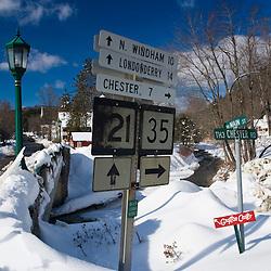 Downtown Grafton, Vermont.