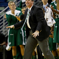 November 27, 2011; New Orleans, LA; Tulane Green Wave head coach Ed Conroy against the San Diego Toreros during the first half of Hoops for Hope Classic at the New Orleans Arena.  Mandatory Credit: Derick E. Hingle-US PRESSWIRE
