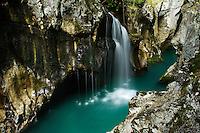"River Soca (""Velika korita"", ""Grand Canyon"")<br /> Triglav National Park, Slovenia<br /> October 2008"