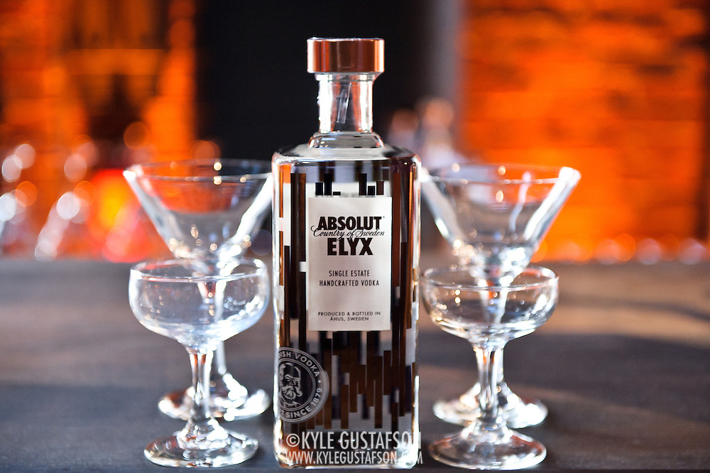Launch party for Absolut Elyx at the Power House in Georgetown, in Washington, D.C. Photo by Kyle Gustafson