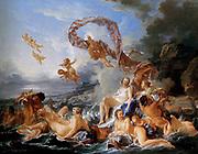 Francois Boucher 'The Triumph of Venus' 1740
