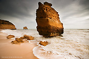 The incredibly soft sandstone geology of this part of the Algarve in Portugal, means that the powerful and relentless Atlantic Ocean erodes the cliffs into the most spectacular formations.
