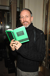 PATRICK COX at a party to celebrate the publication of Top Tips For Girls by Kate Reardon held at Claridge's, Brook Street, London on 28th January 2008.<br />