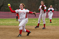 St Paul's School Softball with Kimball Union Academy Tuesday, April 23, 2013.  Karen Bobotas Photographer