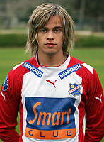 Fotball<br /> La Manga - Spania<br /> 21.02.2005<br /> FC Lyn Oslo<br /> Foto: Morten Olsen, Digitalsport<br /> <br /> Lars Kristian Eriksen