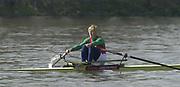 Putney to Mortlake, Thames World Sculling Challenge<br /> <br /> Photo Peter Spurrier<br /> 29/03/2002<br /> 2002 Thames World Sculling Challenge<br /> Ekaterina Karsten BLR<br /> River Thames -  London