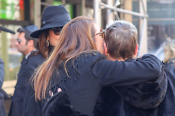 Jill Zarin departs from the funeral for her late husband, Bobby Zarin today. She was comforted by Bethenny Frankel, Patti Stanger and Marla Maples. Mr. Zaron died of cancer. 15 Jan 2018 Pictured: Jill Zarin, Bethenny Frankel. Photo credit: ZapatA/MEGA TheMegaAgency.com +1 888 505 6342