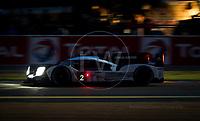Qualifying Romain Dumas (FRA) / Neel Jani (CHE) / Marc Lieb (DEU) driving the #2 LMP1 Porsche Team (DEU) Porsche 919 Hybrid 24hr Le Mans 15th June 2016
