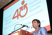 111130 Jeunesse Canada Monde - 40e anniversaire - Ottawa