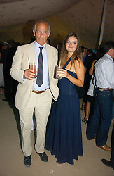 The MARQUESS OF READING and his daughter LADY NATASHA RUFUS-ISAACS at the Tatler Summer Party 2006 in association with Fendi held at Home House, Portman Square, London W1 on 29th June 2006.<br /><br />NON EXCLUSIVE - WORLD RIGHTS
