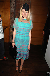 ROISIN MURPHY at a party hosted by Belvedere Vodka and Jade Jagger to launch The Belvedere Jagger Dagger cocktail held at Automat, Berkeley Street, London on 8th May 2008.<br /> <br /> NON EXCLUSIVE - WORLD RIGHTS ******(EMBARGOED FOR PUBLICATION IN UK MAGAZINES UNTIL 2 MONTHS AFTER CREATE DATE AND TIME)****** www.donfeatures.com  +44 (0) 7092 235465