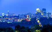 Akron, Ohio Skyline.