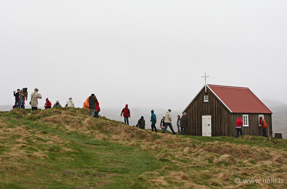 The Church at Krysuvik, Iceland - Krýsuvíkurkirkja,