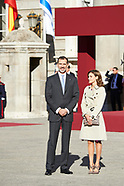 110617 Spanish Royals attends the Official Reception to Reuven Rivlinm and Nechama Rivlin