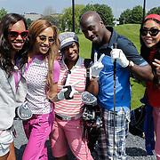 NLD/Abcoude/20120530 - Gekleurde bn' ers gaan multicultureeel golfen, Hind Laroussi Tahiri, Fernando Halman, Jasmine Sendar, Glennis Grace, Edsilia Rombley