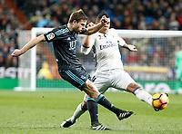 Real Madrid's Carlos Henrique Casemiro (r) and Real Sociedad's Asier Illarramendi during La Liga match. January 29,2017. (ALTERPHOTOS/Acero)