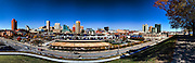 Baltimore Maryland shyline from Federal hill