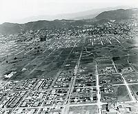 1924 Looking north at Hancock Park