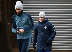 Chelsea Press Conference and Training - Cobham Training Ground - 06 March 2019