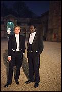 GEORGE PEARSON; ALLAMIN DAGGASH, Oxford University Polo club Ball, Blenheim Palace. Woodstock. 6 March 2015