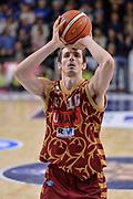 DESCRIZIONE : Campionato 2015/16 Serie A Beko Dinamo Banco di Sardegna Sassari - Umana Reyer Venezia<br /> GIOCATORE : Benjamin Ortner<br /> CATEGORIA : Tiro Libero<br /> SQUADRA : Umana Reyer Venezia<br /> EVENTO : LegaBasket Serie A Beko 2015/2016<br /> GARA : Dinamo Banco di Sardegna Sassari - Umana Reyer Venezia<br /> DATA : 01/11/2015<br /> SPORT : Pallacanestro <br /> AUTORE : Agenzia Ciamillo-Castoria/L.Canu