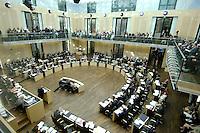 23 SEP 2005, BERLIN/GERMANY:<br /> Uebersicht Plenarsaal waehrend einer Sitzung des Bundesrates, Plenum, Bundesrat<br /> IMAGE: 20050923-01-023<br /> KEYWORDS: Übersicht, Saal