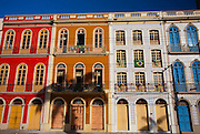 Belem_PA, Brasil..Sobrados historicos em Belem, Para...Historical houses in Belem, Para...Foto: JOAO MARCOS ROSA / NITRO