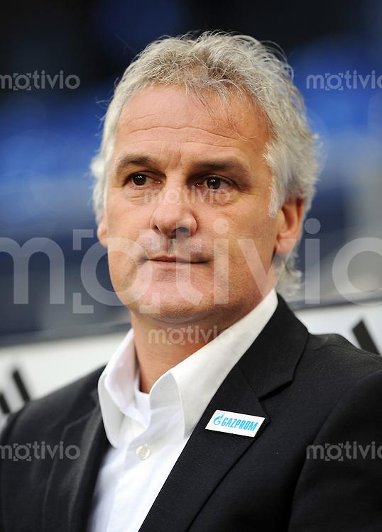 FUSSBALL   1. BUNDESLIGA   SAISON 2008/2009   16. SPIELTAG FC Schalke 04 - Hertha BSC Berlin                           06.12.2008 Trainer Fred RUTTEN (FC Schalke 04)