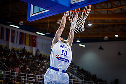Kalogiros  Andreas of Greece during basketball match between National teams of Greece and Slovenia in the Group Phase C of FIBA U18 European Championship 2019, on July 29, 2019 in  Nea Ionia Hall, Volos, Greece. Photo by Vid Ponikvar / Sportida