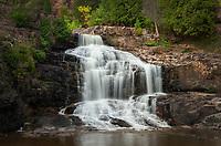 Lower Goosebury Falls, Goosebury Falls State Park Minnesota