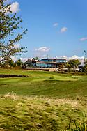 19-09-2015: Albatross Golfresort in Vysoky Ujezd, Tsjechië.<br /> Foto: Het clubhuis