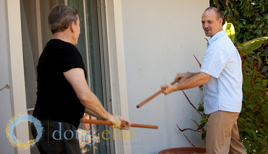 Coaching pr photos for Dennis Coyne and Billy Anderson, Strozzi Institute somatic coaches.