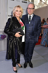 Jennifer Saunders and Ade Edmondson at the Glamour Women of The Year Awards 2017 in association with Next held in Berkeley Square Gardens, London England. 6 June 2017.