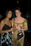 Konnie Huq ( Blue Peter)  and Laura Ramsey, Save the Children's Festival of Trees Gala dinner. Natural History Museum. London. 4 December 2007. -DO NOT ARCHIVE-© Copyright Photograph by Dafydd Jones. 248 Clapham Rd. London SW9 0PZ. Tel 0207 820 0771. www.dafjones.com.