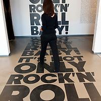 """Milan 22 June 2010 Opening of the Exhibition """"It's not only Rock'n'Roll Baby""""  Exhibition at Triennale Bovisa Milano The exhibition brings toghether important works by musician from the 70's to our days.Curator Jerome Sans ...***Agreed Fee's Apply To All Image Use***.Marco Secchi /Xianpix. tel +44 (0) 207 1939846. e-mail ms@msecchi.com .www.marcosecchi.com"""